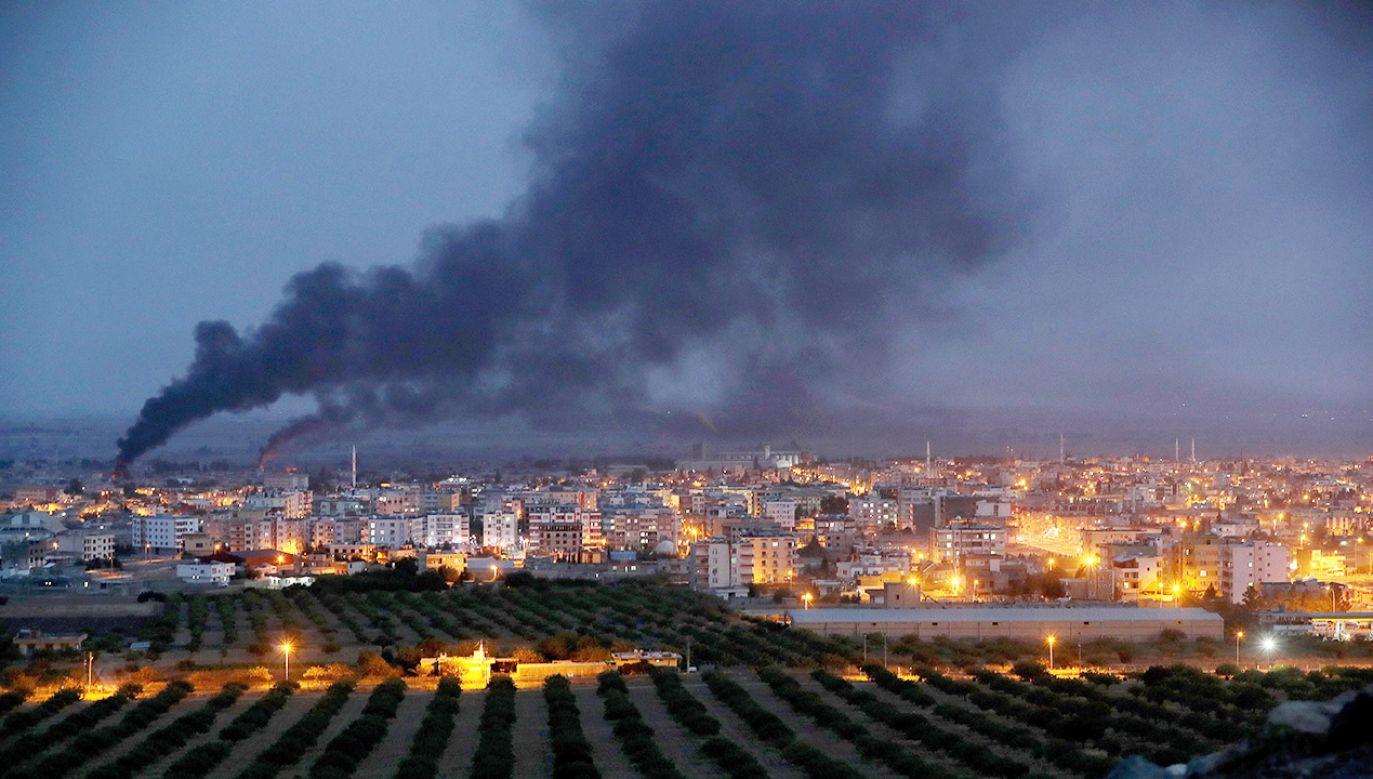 Operacja turecka w Syrii trwa od ponad tygodnia (fot. PAP/EPA/ERDEM SAHIN)
