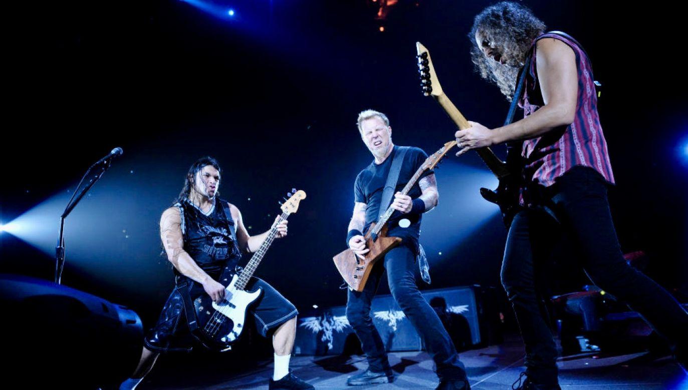 W kwietniu ubiegłego roku Metallica miała wyruszyć w trasę po Ameryce Południowej (fot. Jesse Wild/Total Guitar Magazine/Future/Getty Images)
