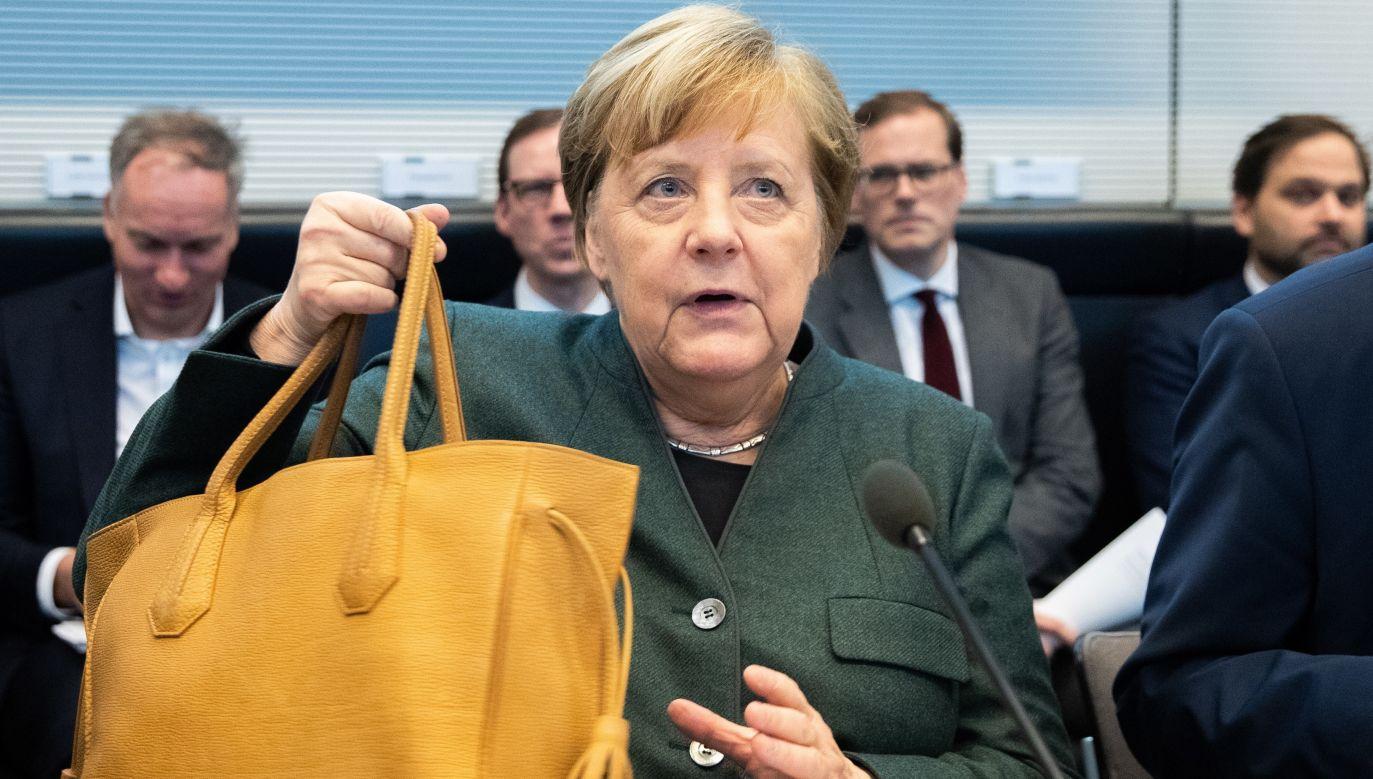 Niemiecka kanclerz Angela Merkel (fot.PAP/EPA/HAYOUNG JEON)