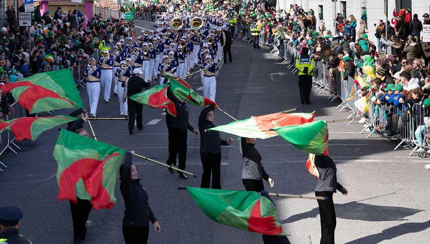 Najsłynniejsze obchody Dnia Świętego Patryka odbywają się co roku w Dublinie (fot. Wiki 2.0/William Murphy)