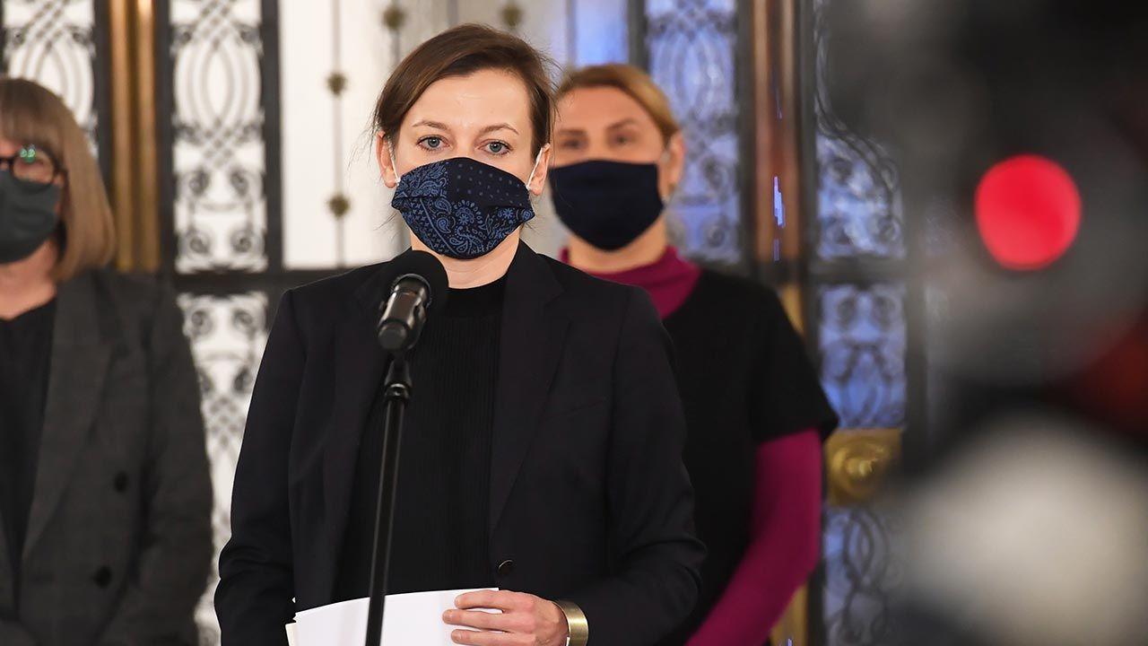 Zuzanna Rudzińska-Bluszcz (fot.  PAP/Piotr Nowak)