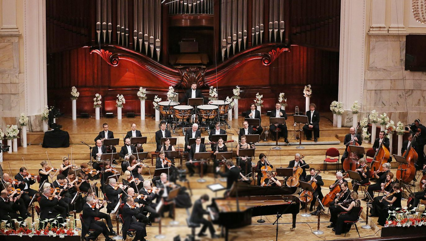 Eliminacje do konkursu odbywać się będą w Filharmonii Narodowej w Warszawie (fot. PAP/Radek Pietruszka)