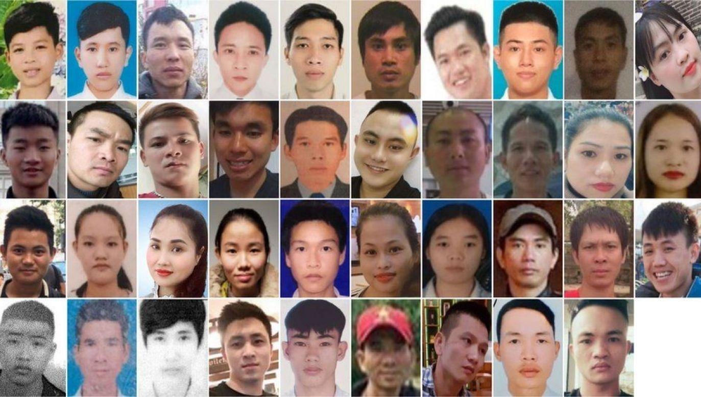 Zdjęcia ofiar tragicznej próby przemytu (fot. arch.)