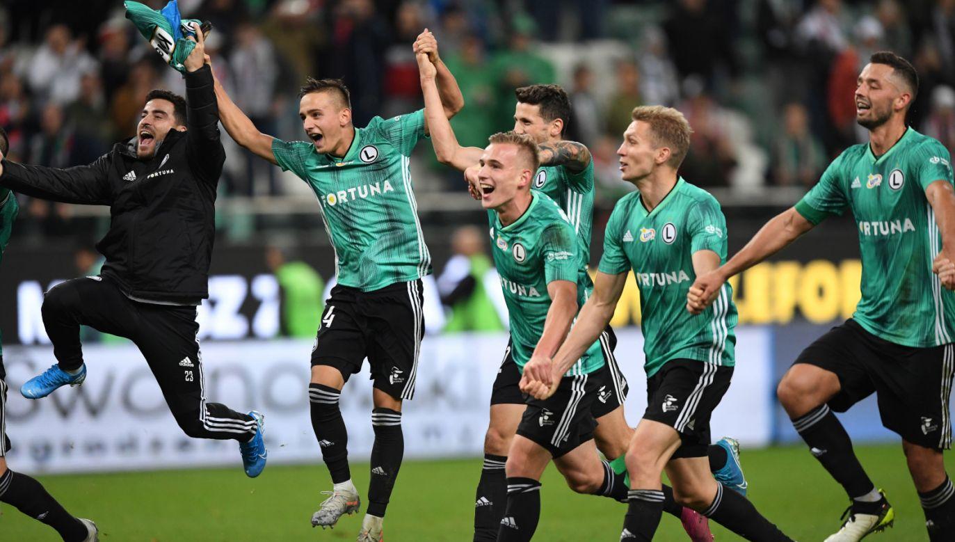 To siódme ligowe zwycięstwo Legii w tym sezonie (fot. PAP/Piotr Nowak)
