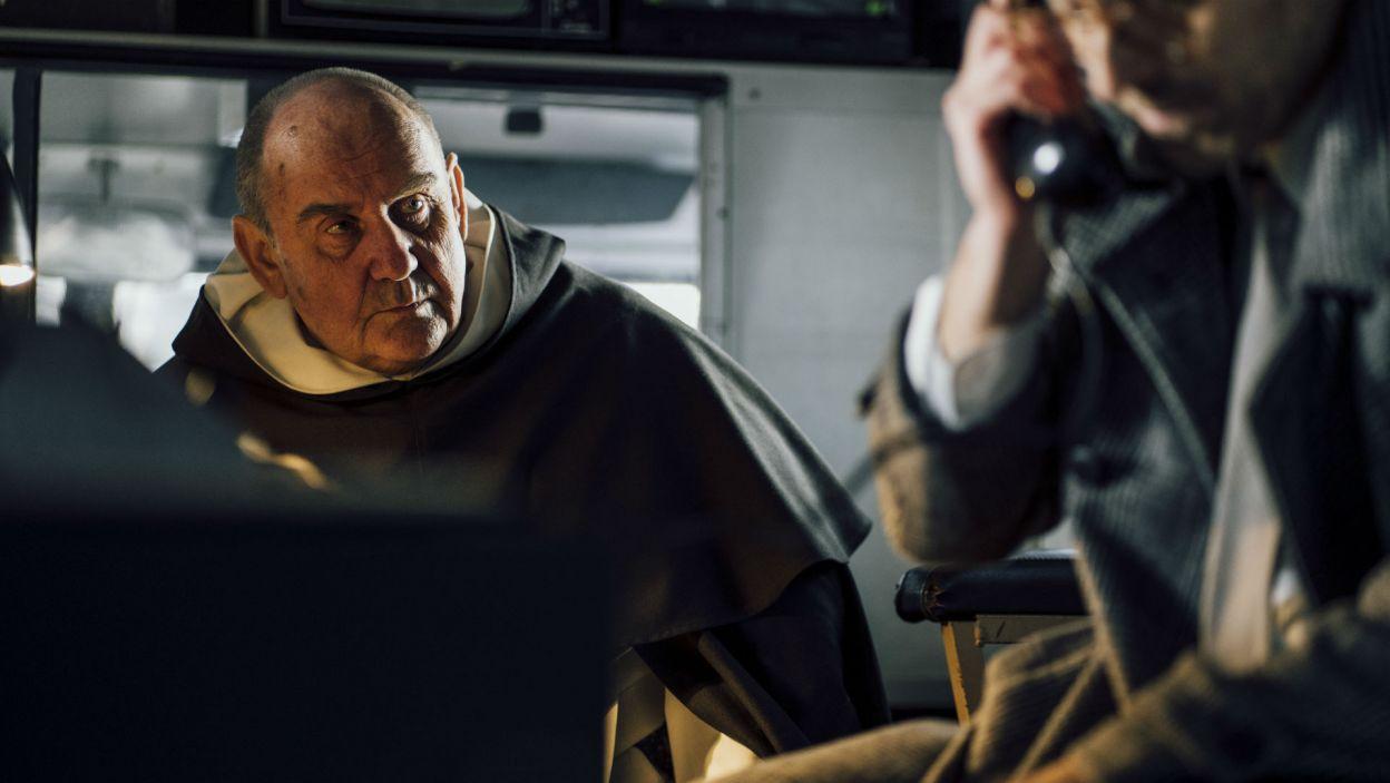 Bohaterem spektaklu jest ojciec Józef Maria Bocheński, filozof, dominikanin; rolę tę zagrał Sławomir Orzechowski (fot. Stanisław Loba)