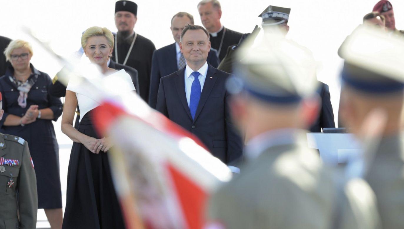 Czwartek to pierwszy dzień drugiej kadencji prezydenta Andrzeja Dudy (fot. PAP/Radek Pietruszka)
