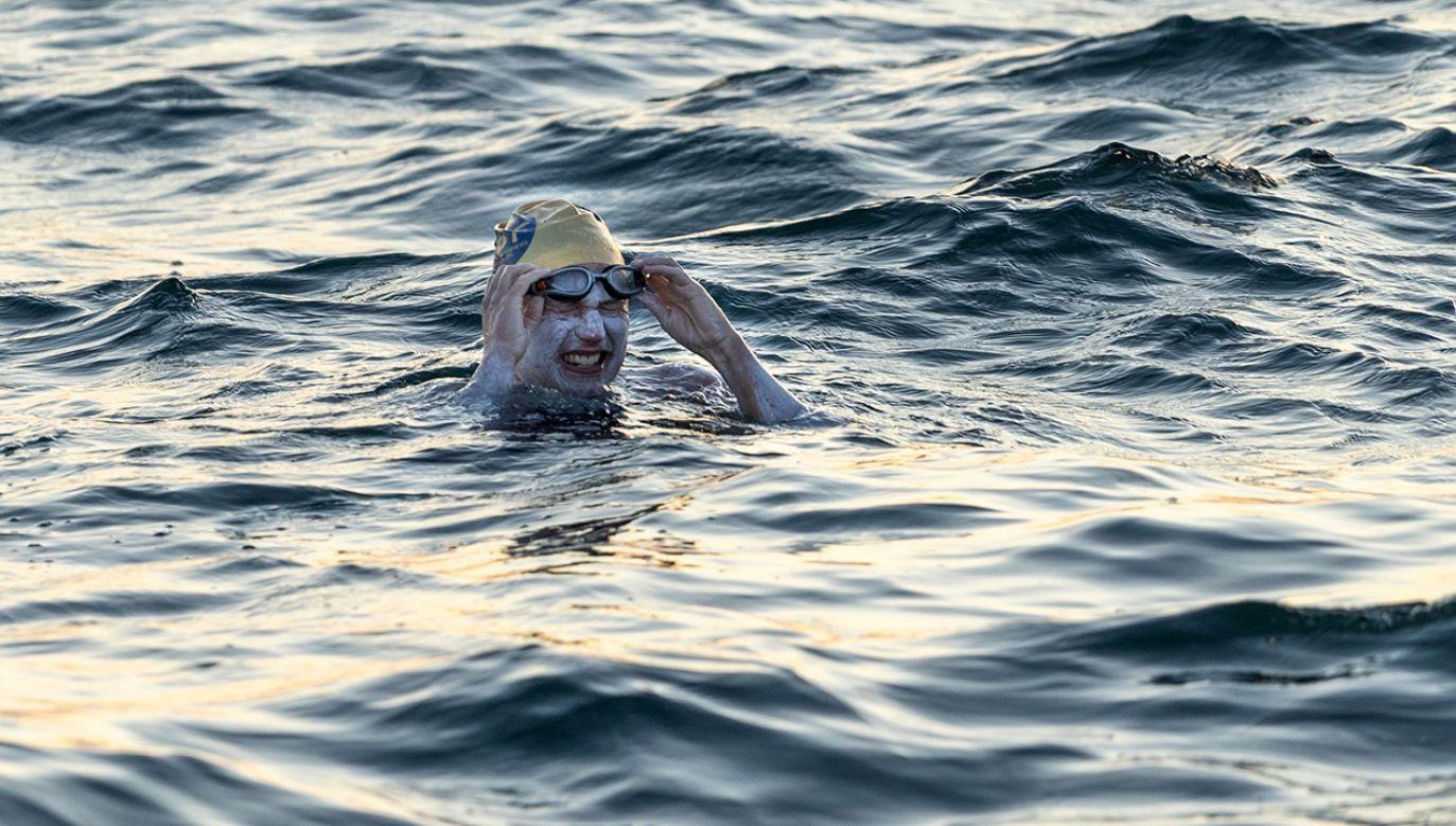 Amerykanka ze względu na silne prądy w kanale przepłynęła 210 km (fot. REUTERS/THEOTHERSIDE-FILM.COM / TWITTER)
