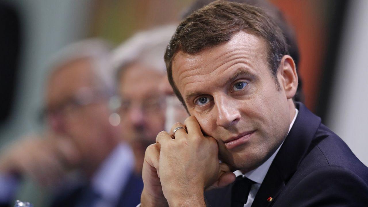 62 proc. Francuzów deklaruje niezadowolenie z działań podejmowanych przez prezydenta Macrona (fot. Sean Gallup/Getty Images)