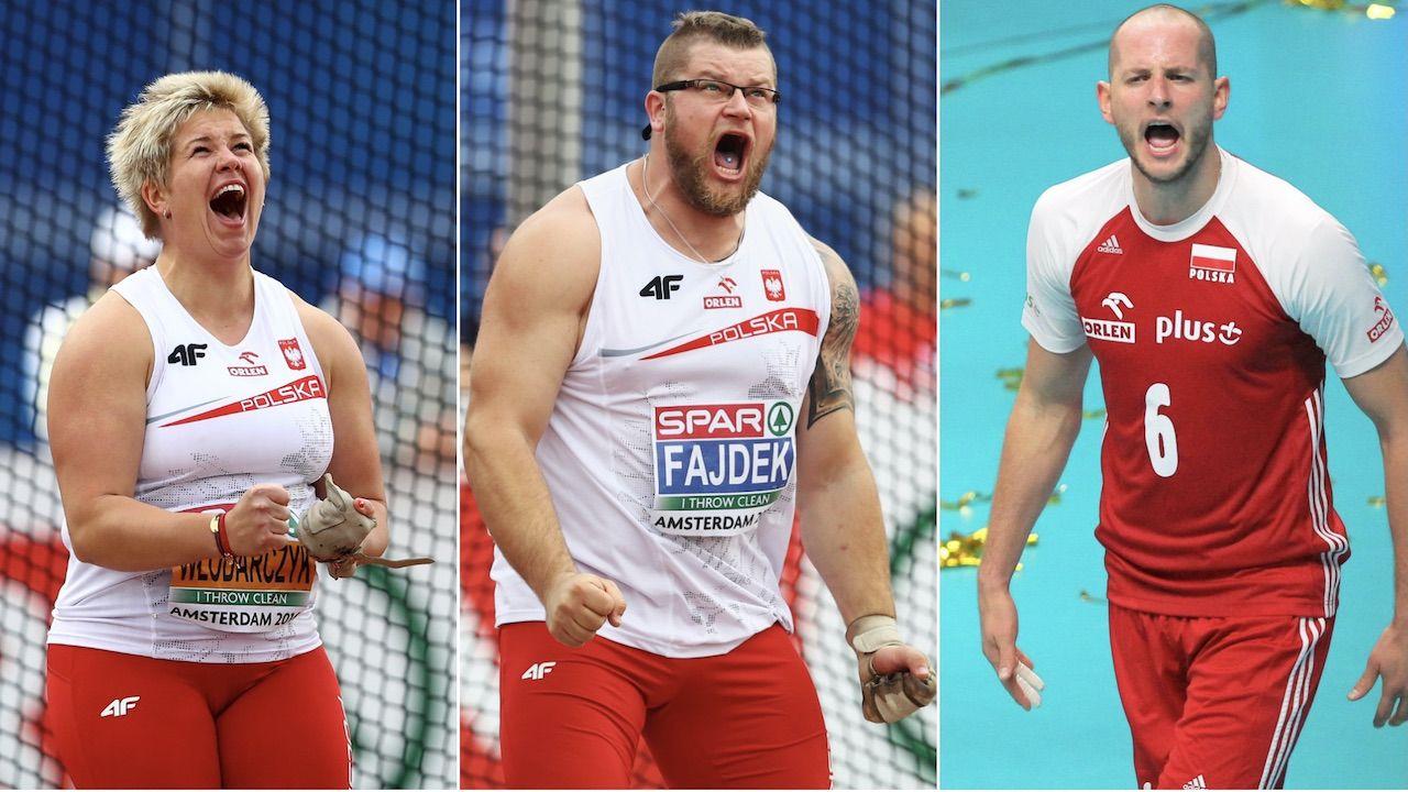 Anita Włodarczyk, Paweł Fajdek, Bartosz Kurek (fot. Getty Images)