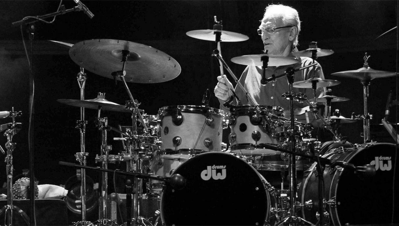 Ginger Baker chciał być kolarzem, ale został perkusistą (fot. PAP/EPA/J.L.Cereijido)