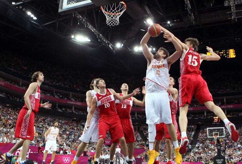 Gasol był nie do zatrzymania dla Rosjan (fot. Getty Images)