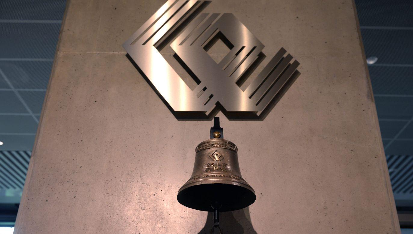 Warsaw Stock Exchange bell:  Photo: PAP/ Jacek Turczyk