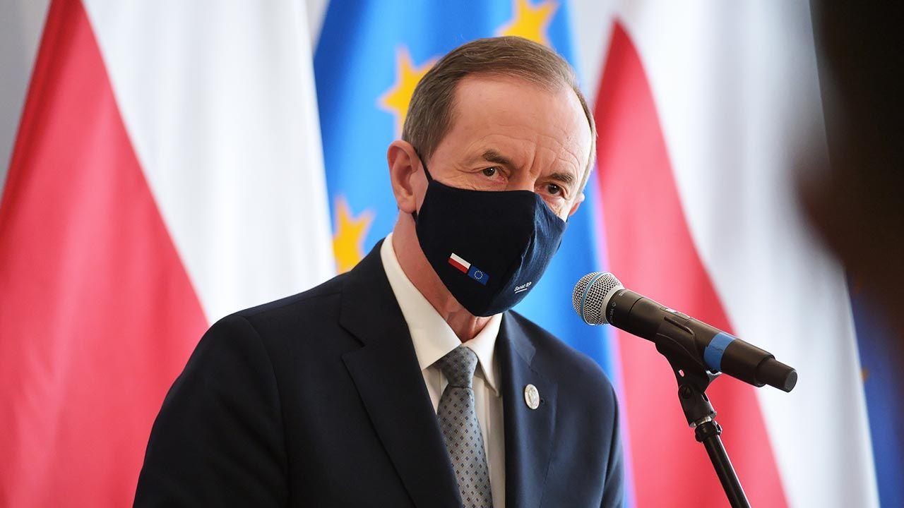 Marszałek Grodzki zapowiedział wprowadzenie poprawek do nowelizacji KPA (fot. PAP/Marcin Obara)