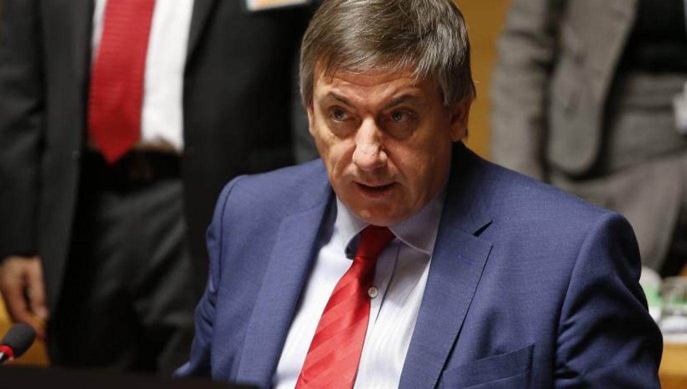 Premier belgijskiej Flandrii Jan Jambon będzie w przyszłym tygodniu w Polsce (fot. PAP/EPA)