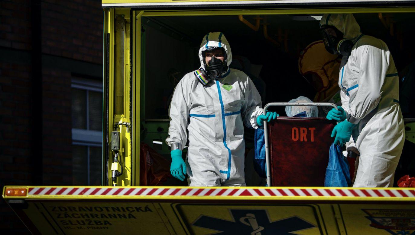 Na skutek zdarzenia ucierpiało siedem osób (fot. arch.PAP/EPA/MARTIN DIVISEK, zdjęcie ilustracyjne)