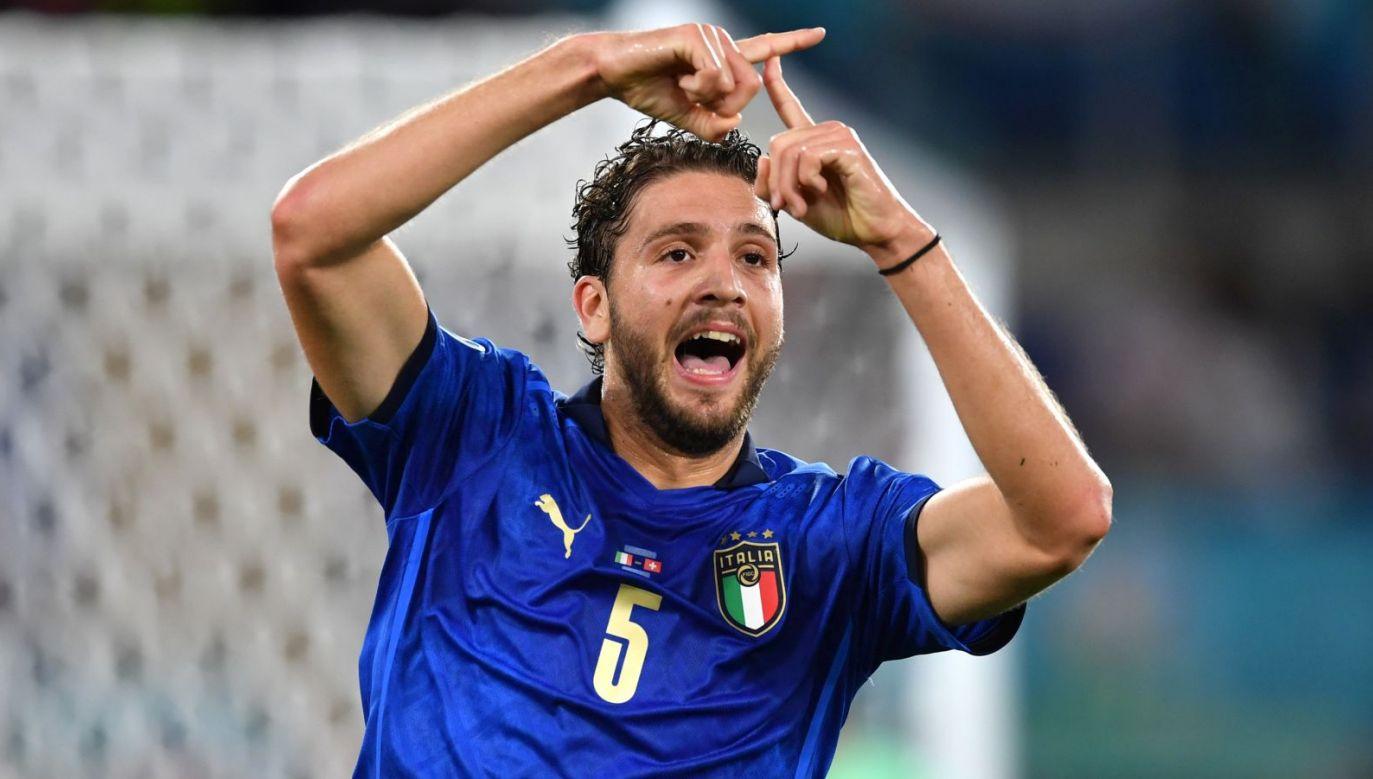 Manuel Locatelli to bezapelacyjny bohater meczu Włochy – Szwajcaria (fot. Getty Images)