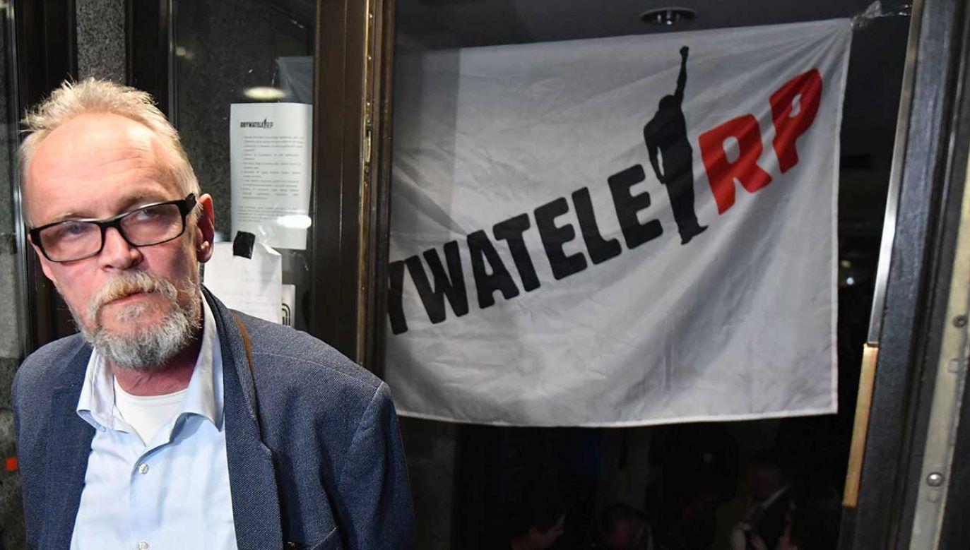 Lider Obywateli RP Paweł Kasprzyk (fot. arch. Bartłomiej Zborowski)