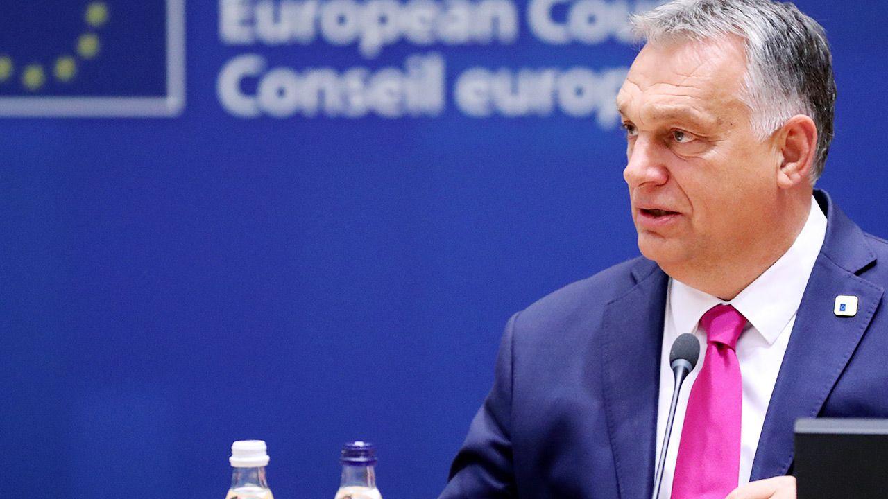 Viktor Orbánwycofał swoją partię Fidesz z grupy europejskiej chadecji w PE (fot.REUTERS/Yves Herman/Pool)