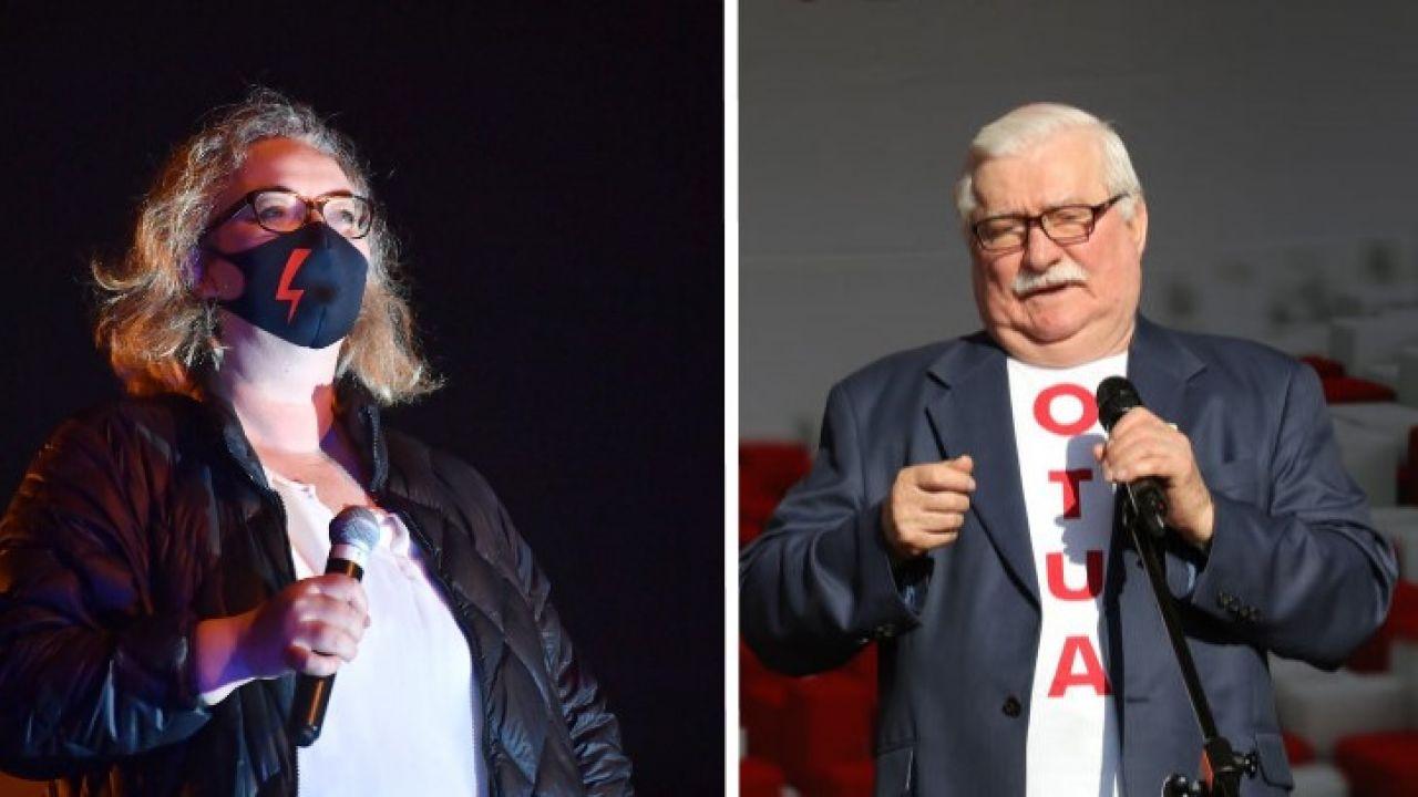 Marta Lempart stała się twarzą trwających protestów proaborcyjnych (fot. PAP/Radek Pietruszka; Michal Fludra/NurPhoto via Getty Images)
