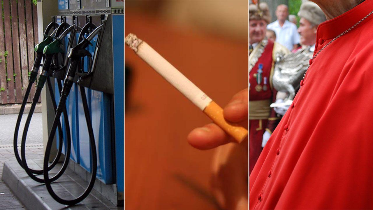 200 paczek papierosów i 400 litrów benzyny z rabatem – to przywileje dla kardynałów w sklepie w Watykanie (fot. flickr.com/ Ruddington Photos/ Filippo Rachiele/wikipedia.org)