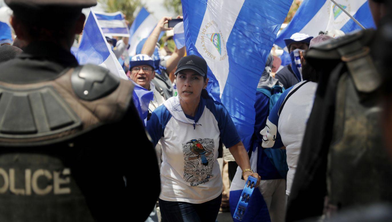 Nikaraguańczycy mają dość życia w dyktaturze (fot. arch.PAP/EPA/ESTEBAN BIBA)