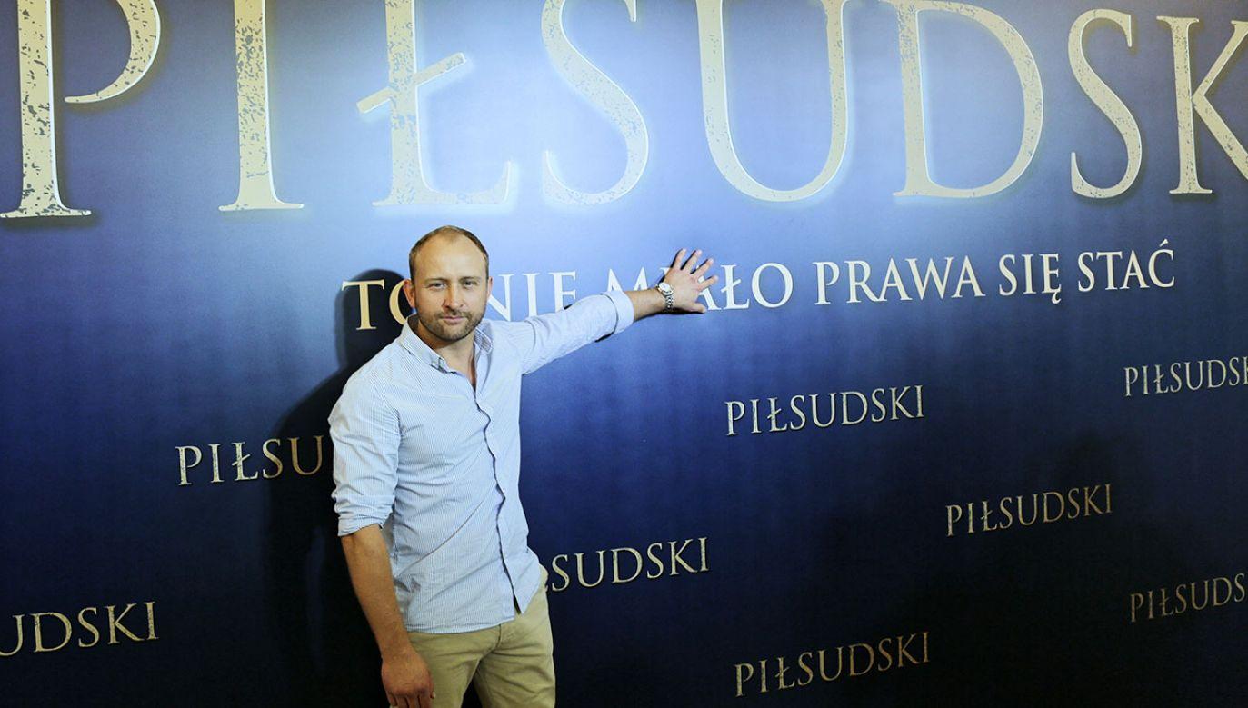 """Celem produkcji było """"pokazanie niesamowitej, charyzmatycznej, niezwykle silnej postaci"""" (fot. PAP/Wojciech Olkuśnik)"""