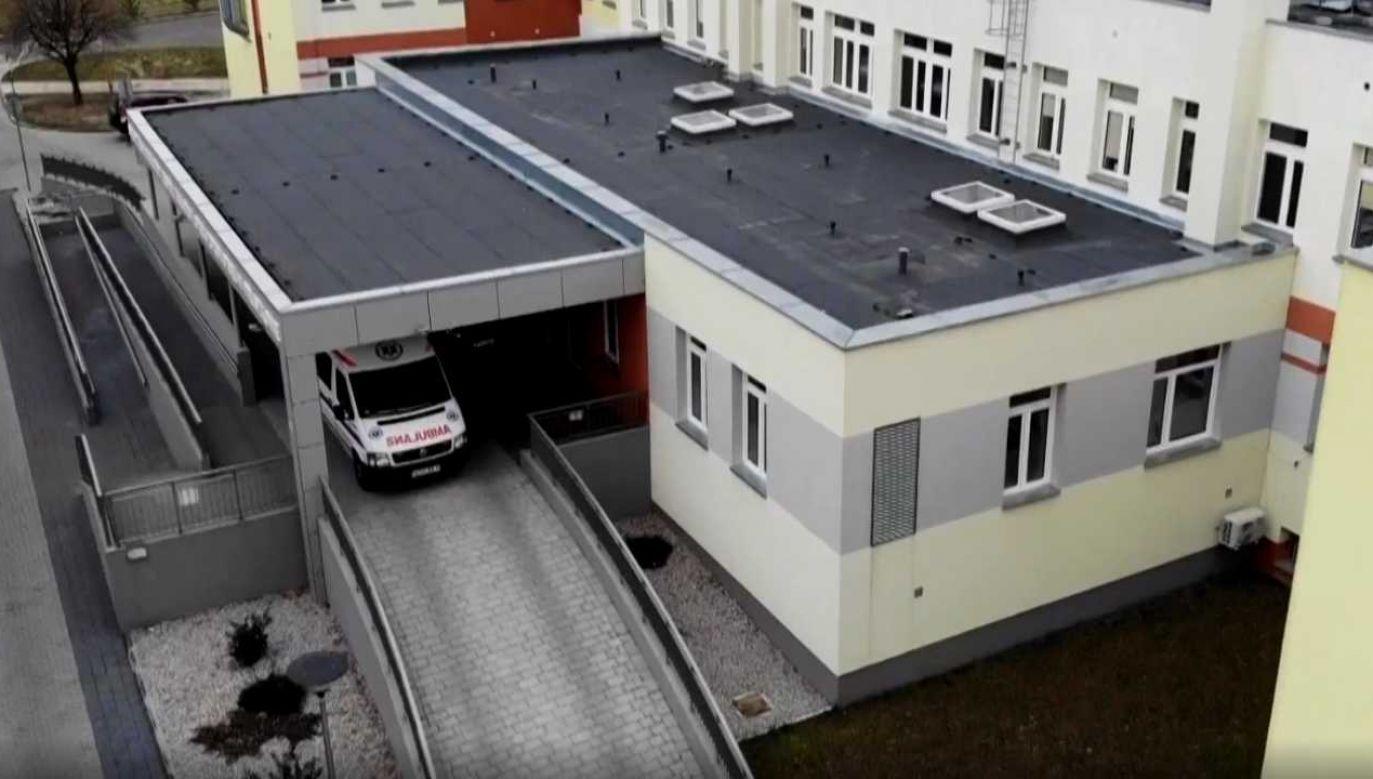 Szpital powiatowy w Pruszkowie nie cieszy się najlepszą opinia (fot. TVP1)