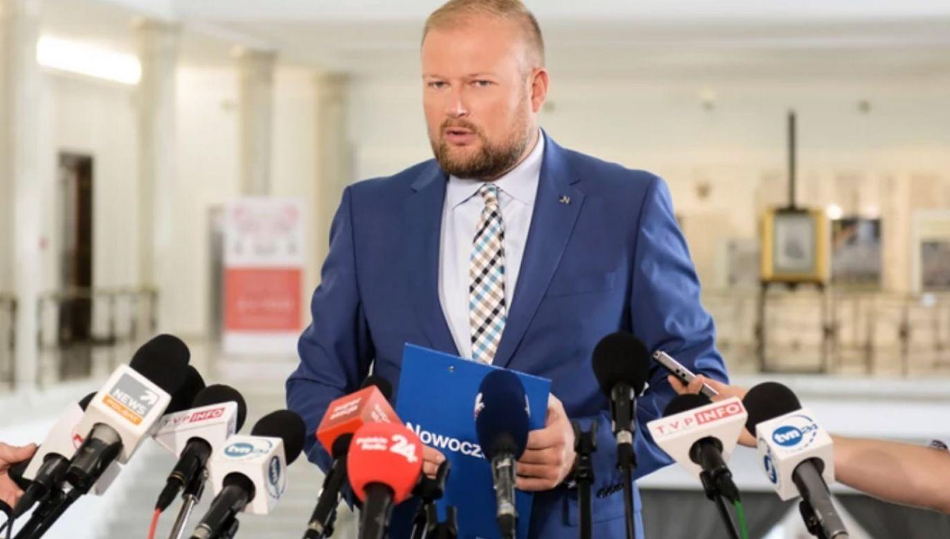 Witold Zembaczyński mówił, że TVP3 Opole nie informowała o wyroku dot. posła PiS (fot. arch.PAP/Jakub Kamiński)