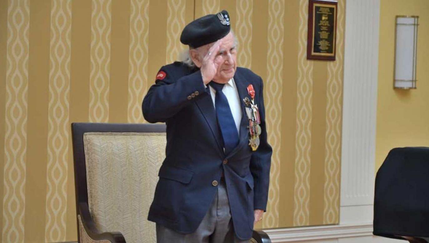 Romuald Lipiński został mianowany na stopień pułkownika (fot. źródło: Facebook/@EmbassyofPolandWashingtonDC)