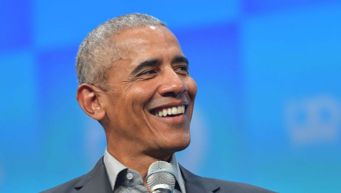 Barack Obama (fot. Hannes Magerstaedt/ Getty Images))