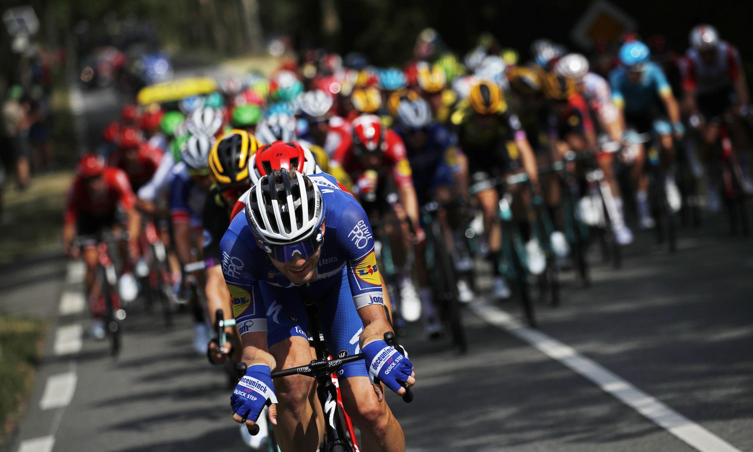 11. etap 106. edycji Tour de France z Albi do Tuluzy liczył 167 kilometrów. Fot. YOAN VALAT/EPA/PAP