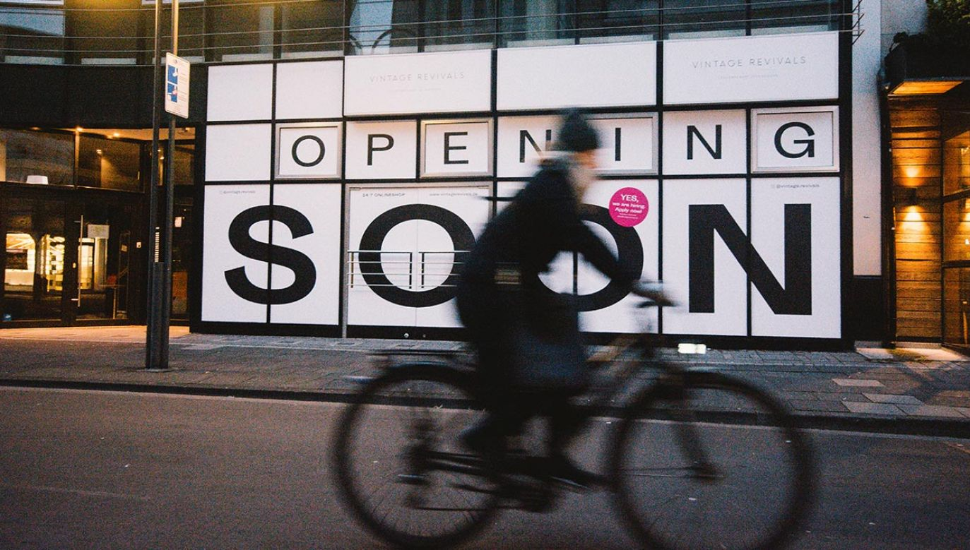 Niemieccy przedsiębiorcy chcą otworzyć sklepy 11 stycznia, mimo lockdownu (fot. Ying Tang/NurPhoto via Getty Images)