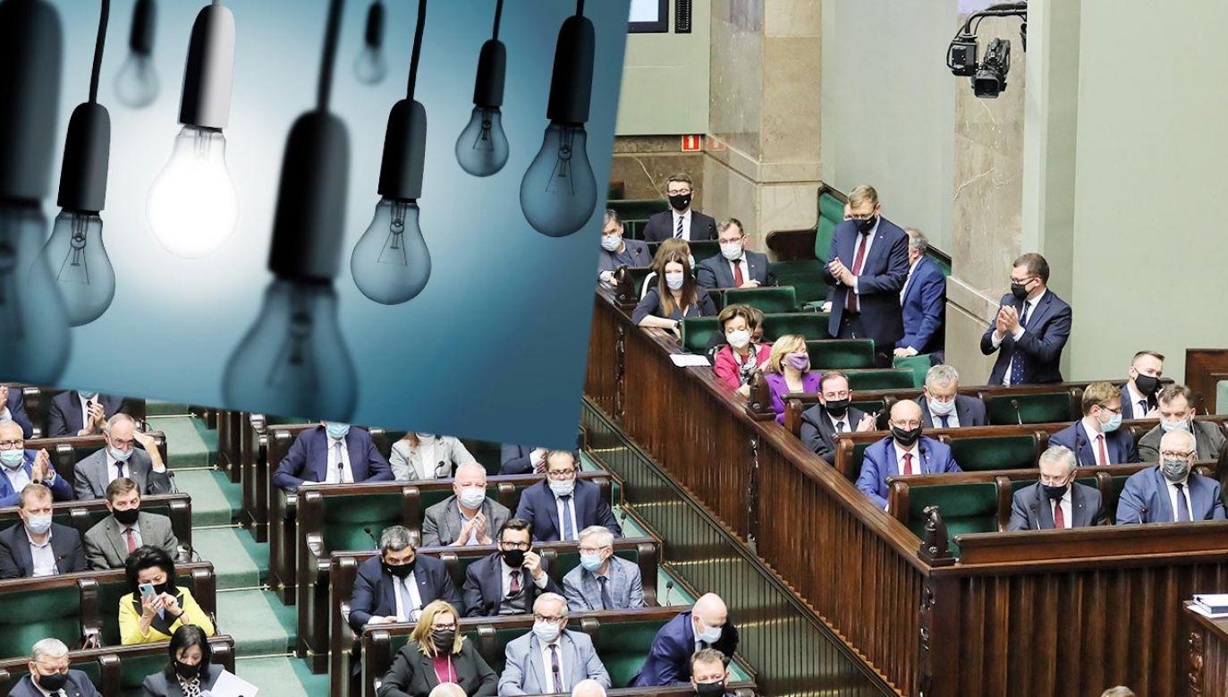 Założenia projektu dot. ubóstwa energetycznego(fot. Shutterstock; PAP/Paweł Supernak)