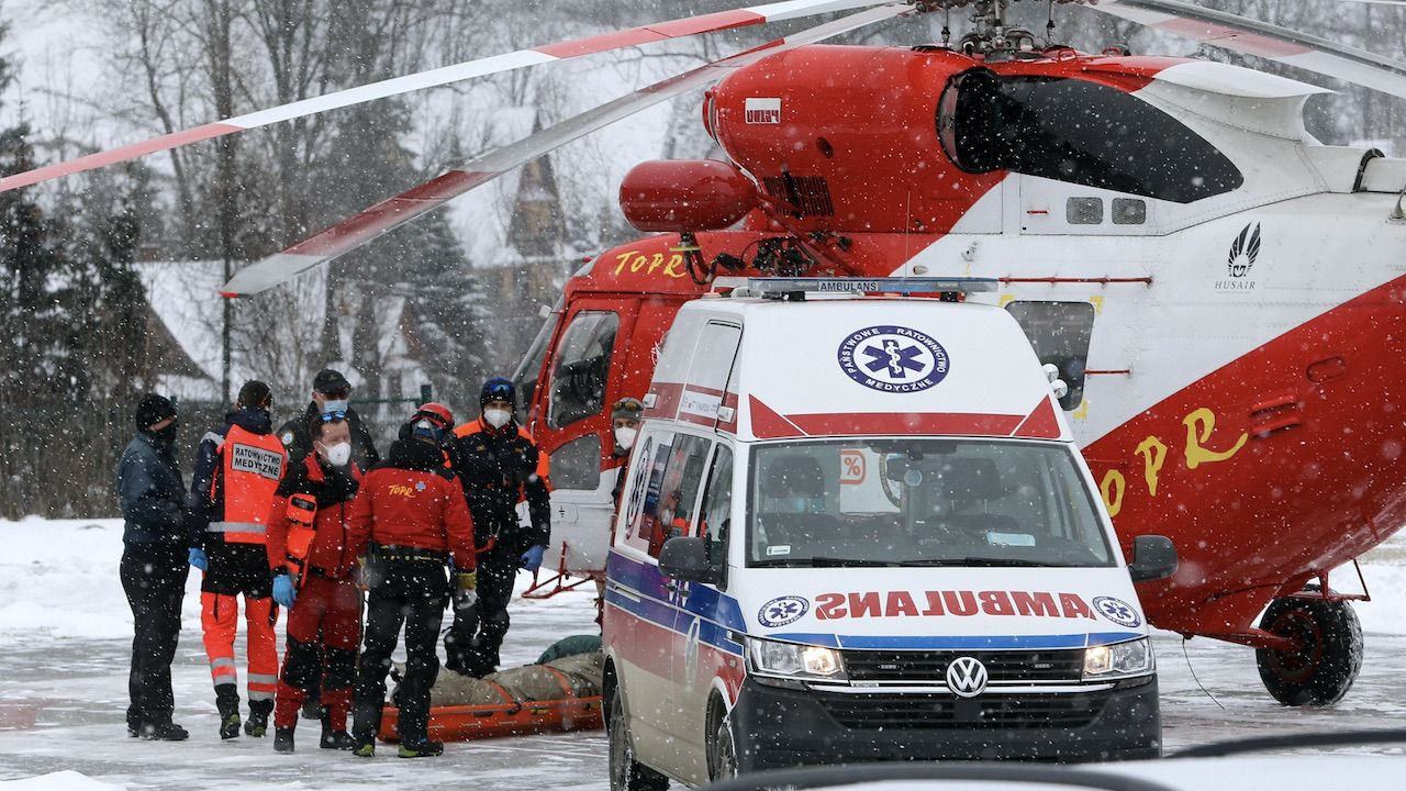 W Tatrach obowiązuje pierwszy stopień zagrożenia lawinowego (fot. PAP/G.Momot)