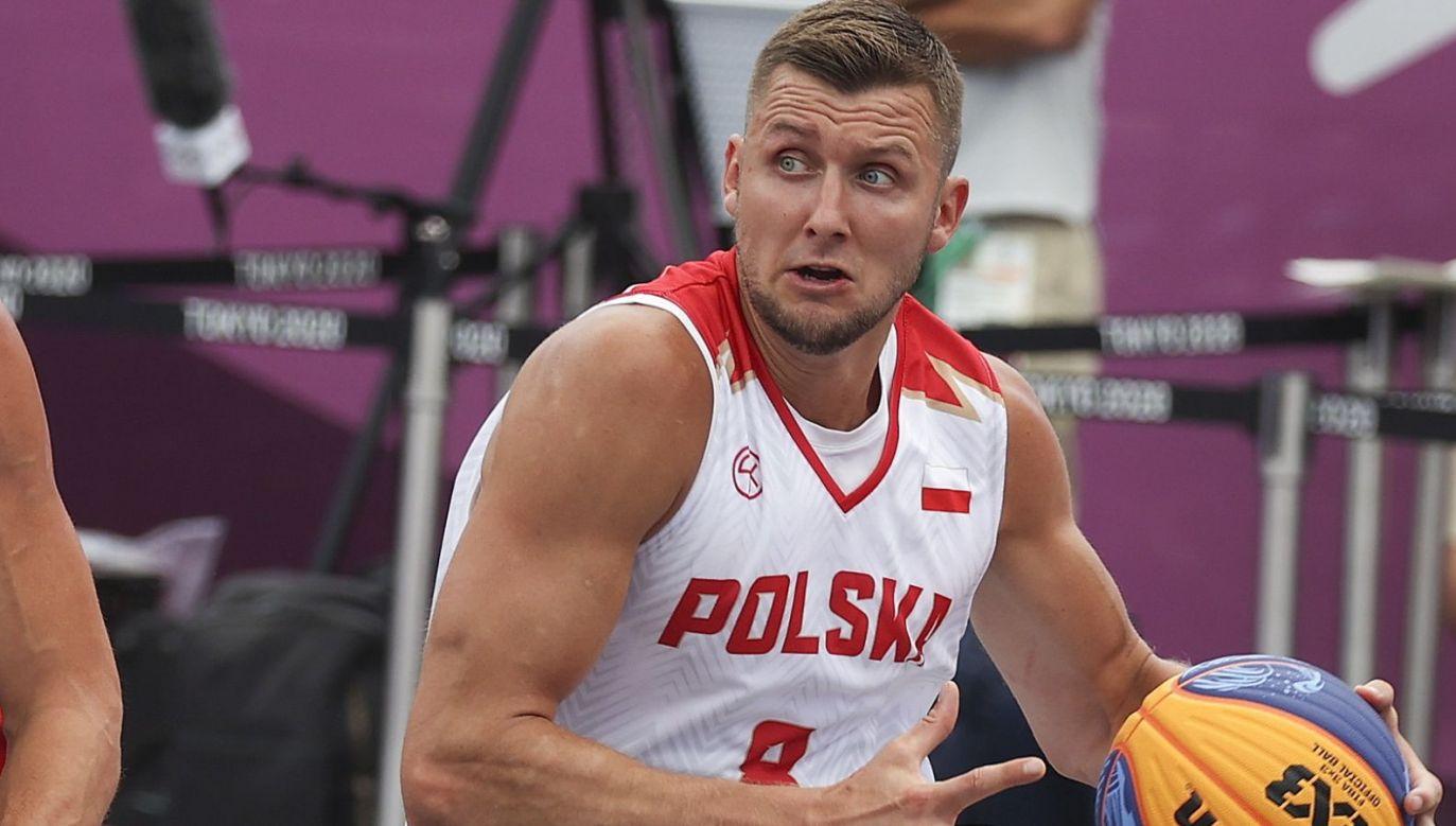 Przemysław Zamojski był bohaterem sobotniego meczu z Japonią (fot. PAP/EPA)