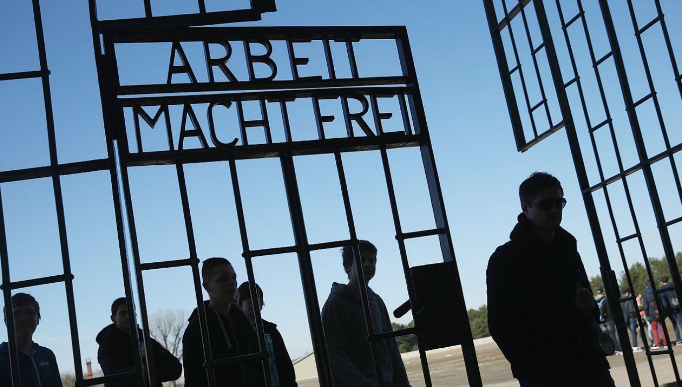 Oskarżony strażnik miał pracować w latach 1942-1945 (fot. Sean Gallup/Getty Images)