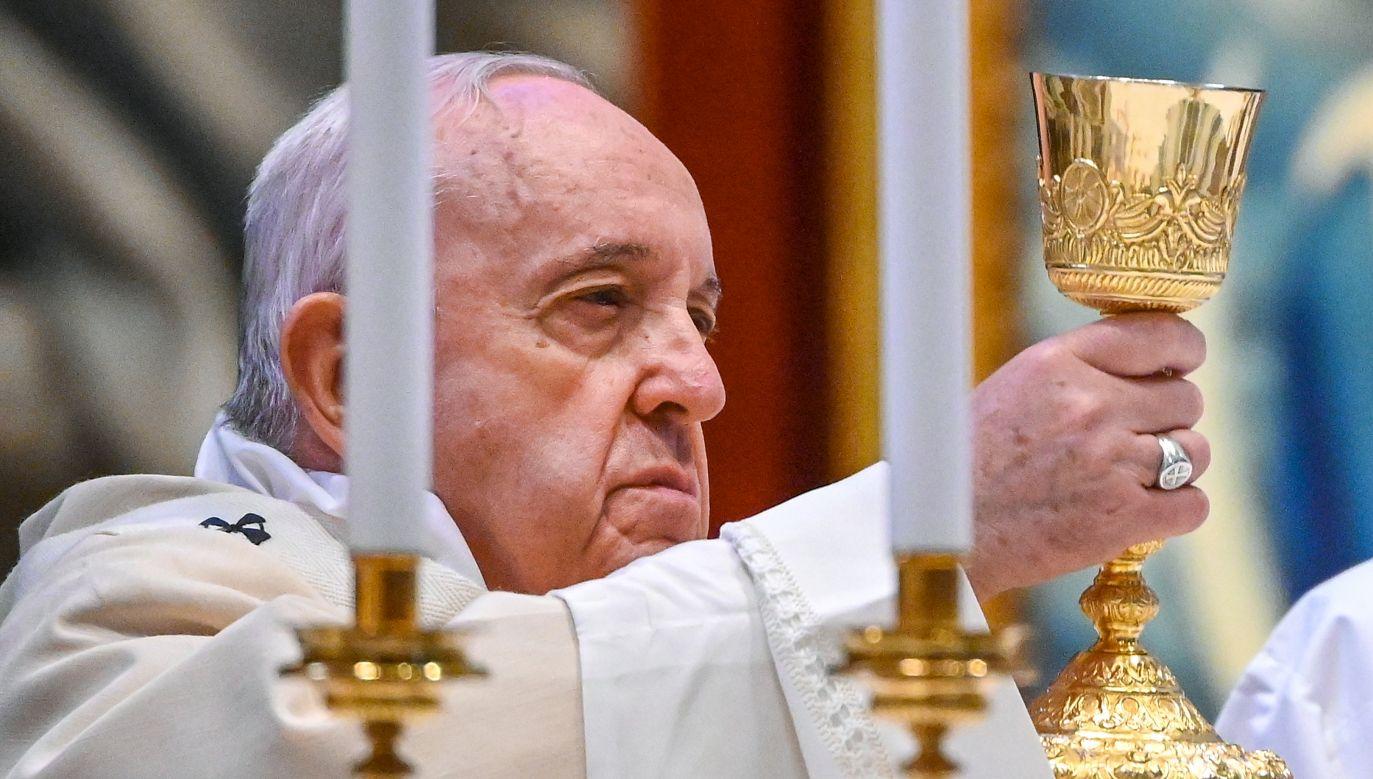 Papież Franciszek przypomniał o znaczeniu ochrony życia (fot. Reuters)
