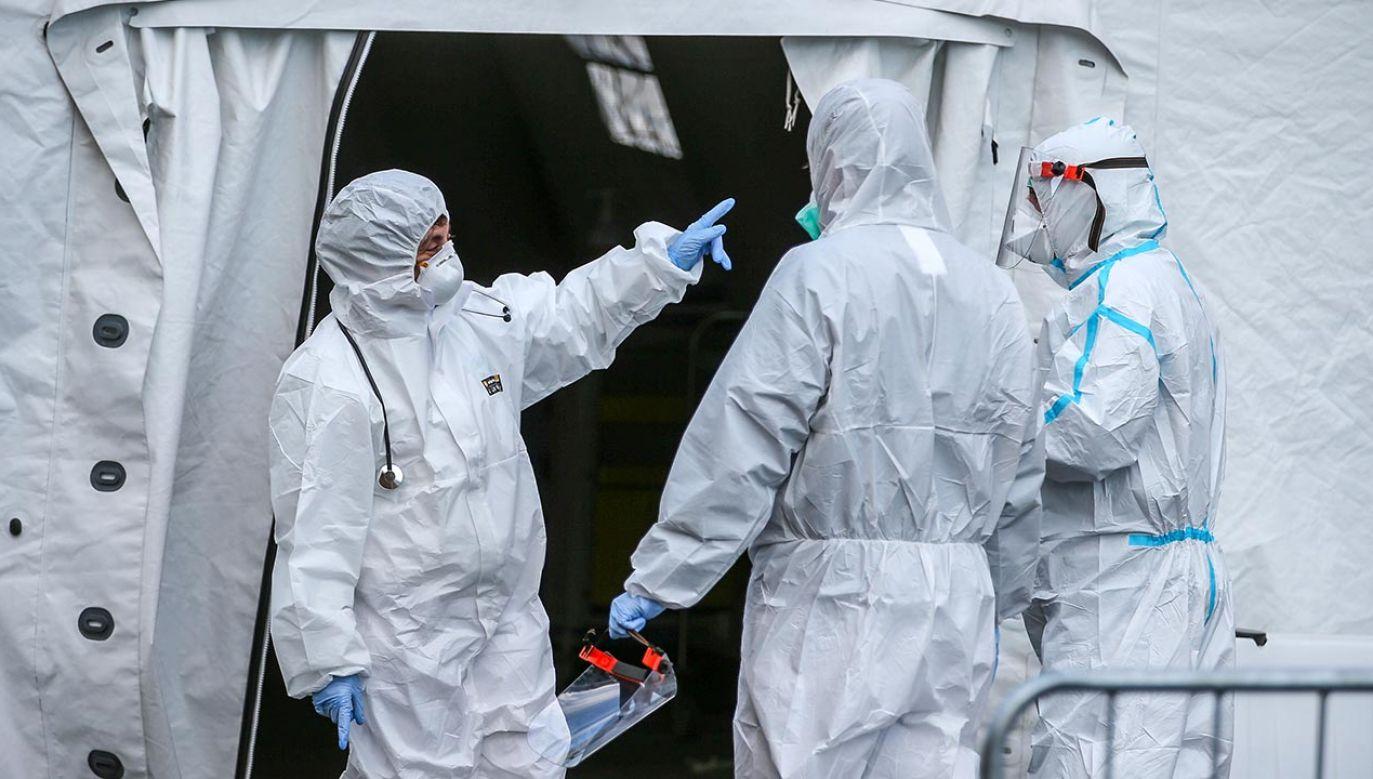 Sejm debatował nad poselskim projektem dotyczącym kadr medycznych (fot. Marco Cantile/LightRocket via Getty Images)
