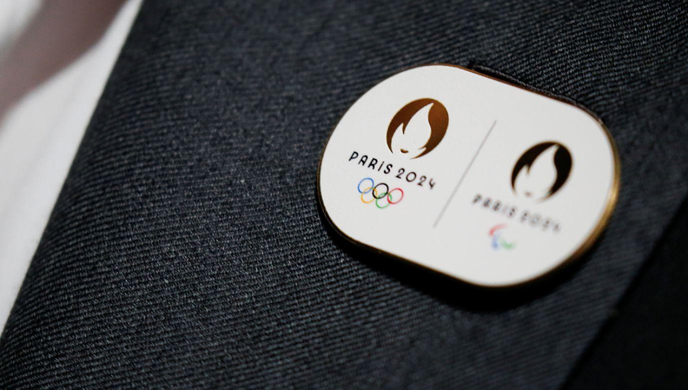 Logo IO Paryż 2024 przypominać ma Mariannę, bohaterkę Francji. (fot. REUTERS/Pascal Rossignol)