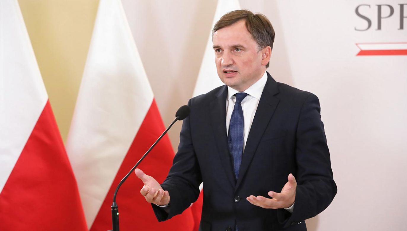 Minister Zbigniew Ziobro chce, by Polska wypowiedziała tzw. konwencję stambulską (fot. PAP/Wojciech Olkuśnik)