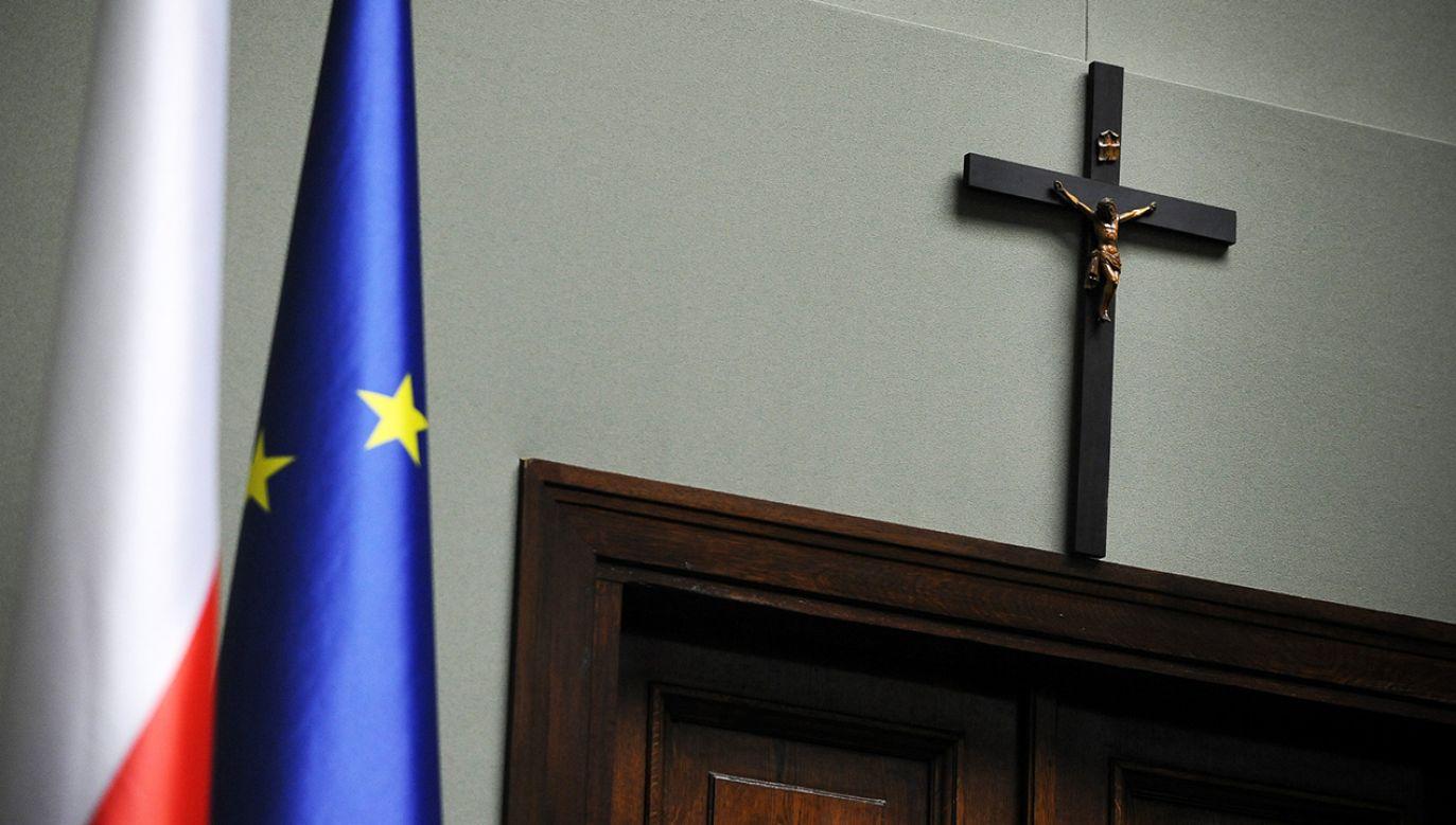 – Żyjemy w państwie prawa, mamy zapisany rozdział Kościoła od państwa w konstytucji i powinniśmy tego przestrzegać – powiedziała Biejat (fot. arch. PAP/Jacek Turczyk)