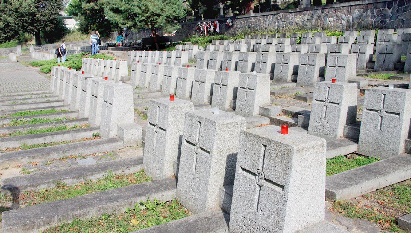 Miejsce pochówku znaleziono przypadkowo na cmentarzu na wileńskiej Rossie (fot. arch. PAP/Jerzy Undro)