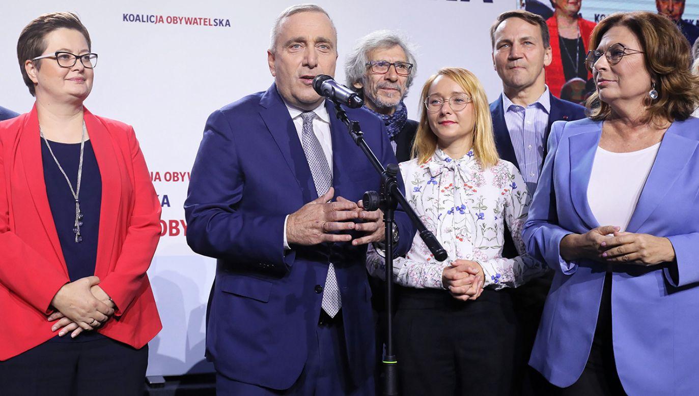 """Kampania Koalicji Obywatelskiej na Mazowszu była """"okropna"""" – ocenia Julia Pitera (fot. PAP/Paweł Supernak)"""