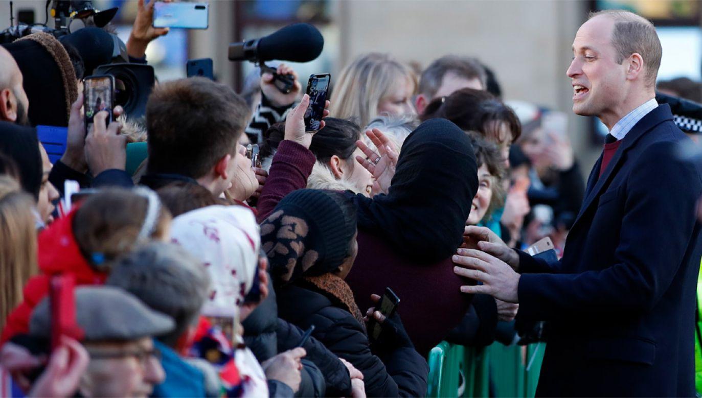 Książę William jest drugi w kolejce do brytyjskiego tronu (fot. PAP/EPA/LYNNE CAMERON)