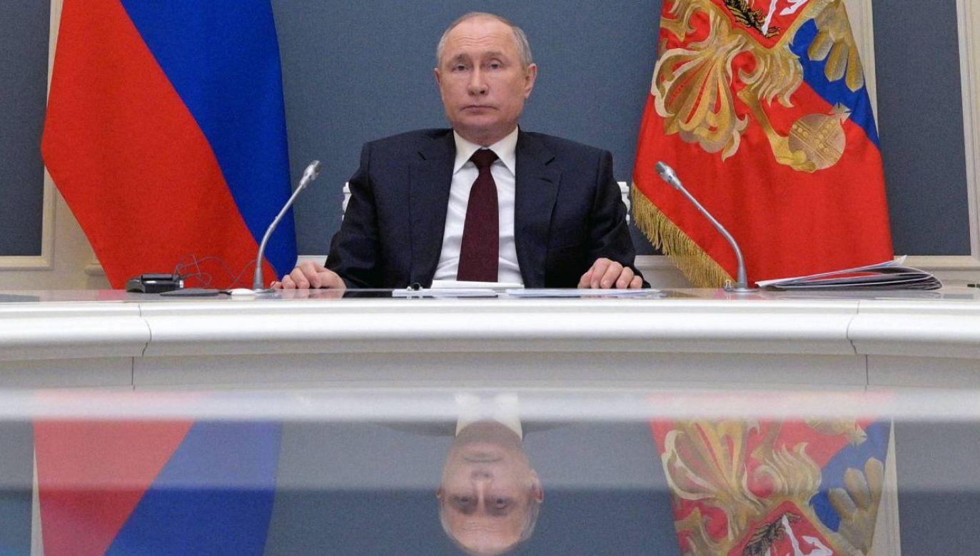Władimir Putin nie potrafi rozwiązać problemów Rosjan (fot. PAP/EPA/ALEXEI DRUZHININ / SPUTNIK / KREMLIN POOL)