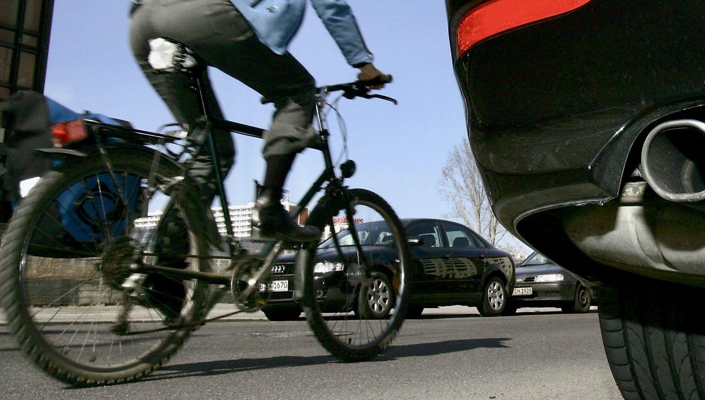 Na drodze ekspresowej mogą poruszać się tylko pojazdy samochodowe (fot. Sean Gallup/Getty Images, zdjęcie ilustracyjne)