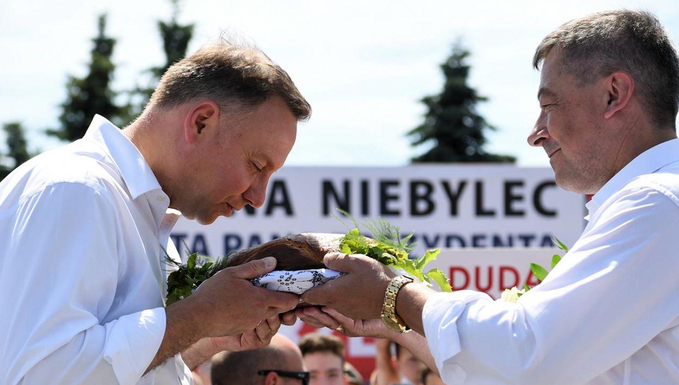"""""""Wierzę, że jesteśmy w stanie zbudować Polskę sprawiedliwą, bogatą, silną"""" (fot. PAP/Darek Delmanowicz)"""
