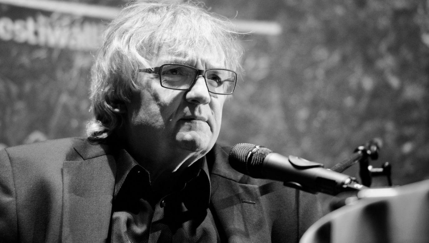 Jerzy Pilch miał 67 lat (fot. PAP/Jacek Turczyk)