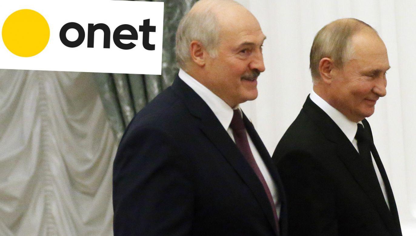 """Adresatem apeli o ukrócenie """"tortur na granicy"""" powinni być władcy Białorusi i Rosji (fot. Mikhail Svetlov/Getty Images)"""