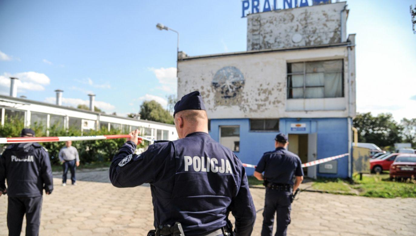 Podejrzewany o ten czyn mężczyzna nie żyje (fot. lubuska.policja.gov.pl)